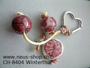 Fimokurs von Neus Shop 8404 Winterthur Fimoperlen Ketten Anhänger Armbänder herstellen